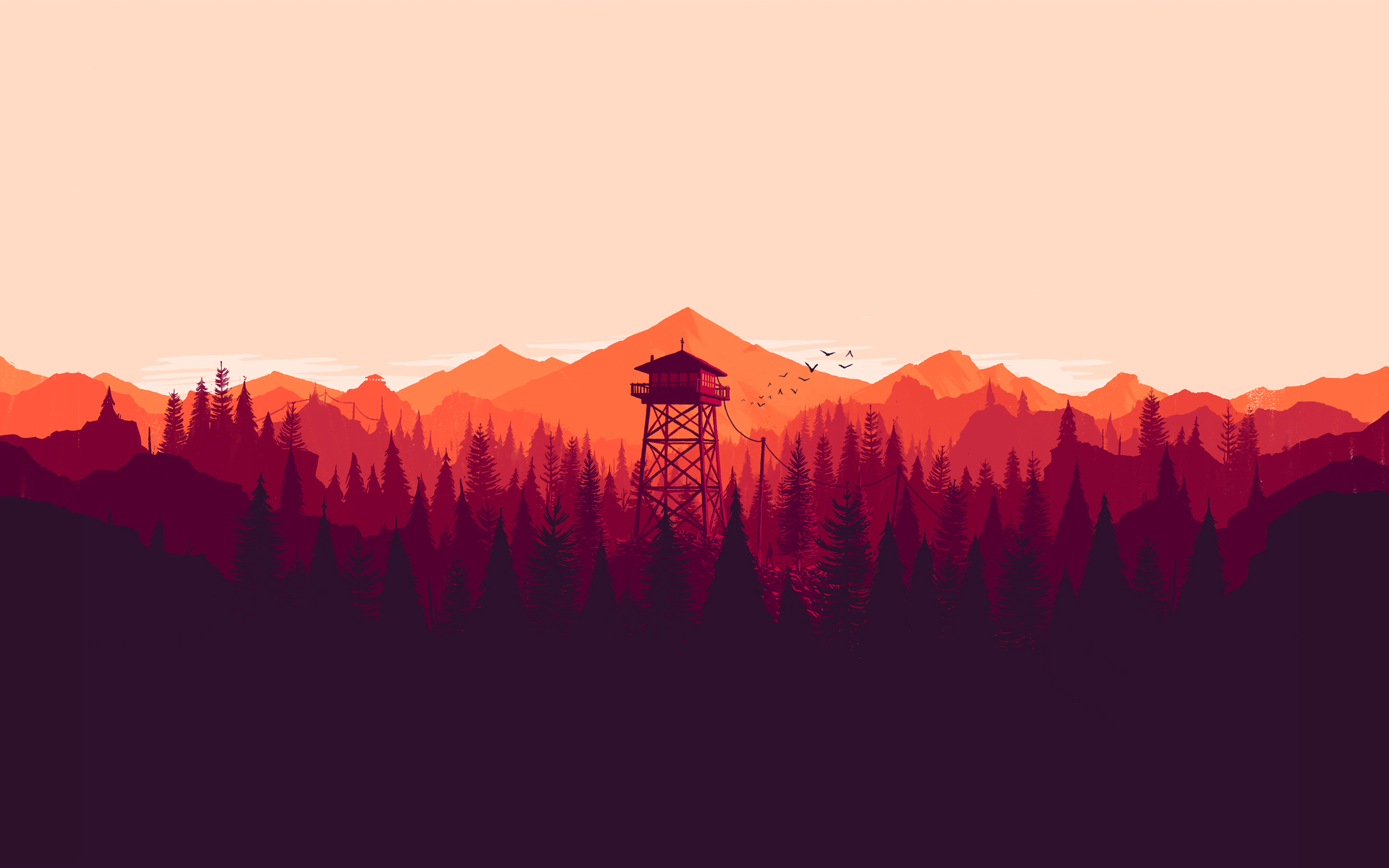 Firewatch Landscape